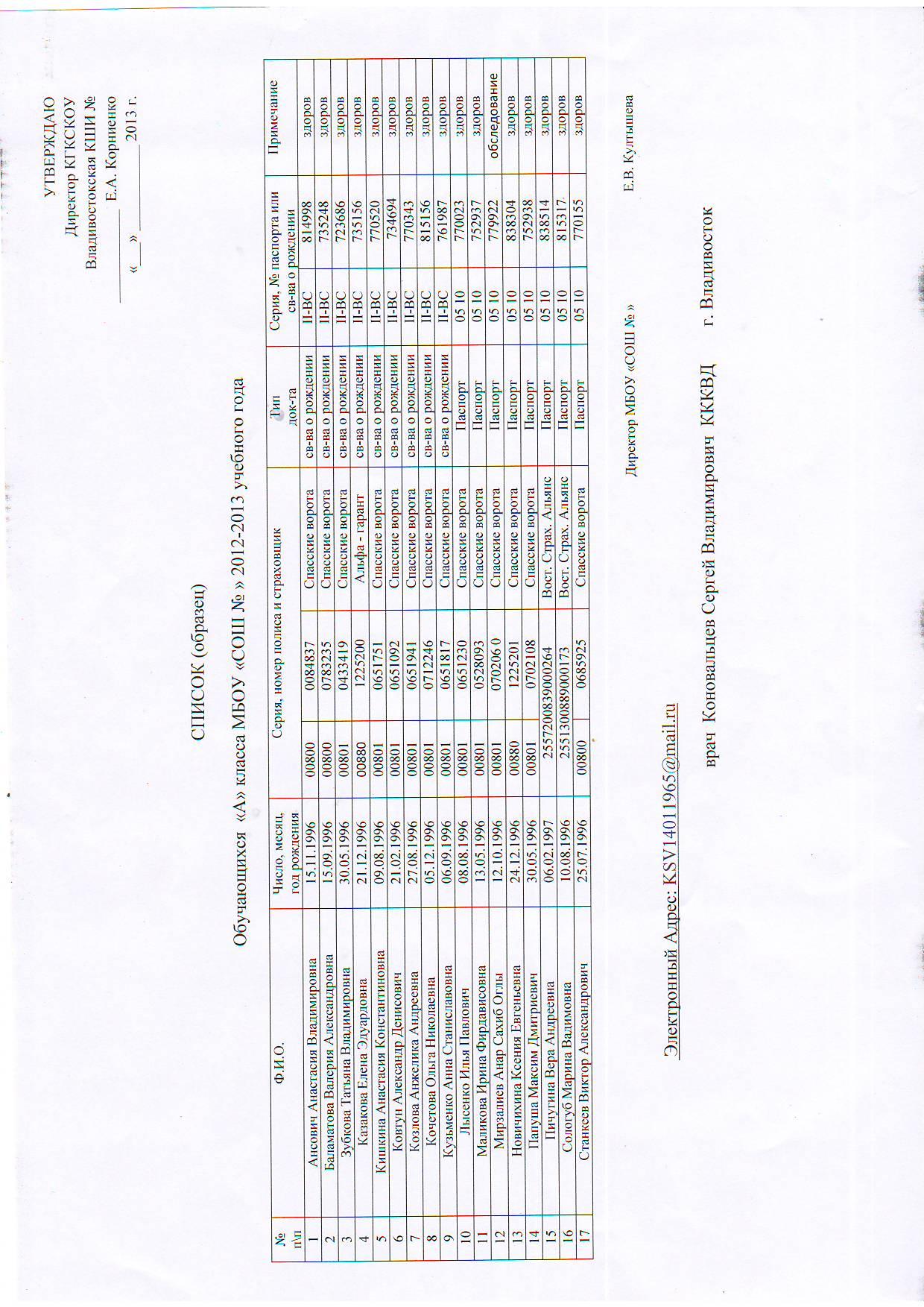 бланк заявления на сверку с налоговой инспекцией